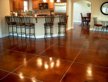 Most Acid Stains Will Be Earth Tones Including Many Hues Of Dark Reds Browns And Greens These Give Your Flooring The Earance